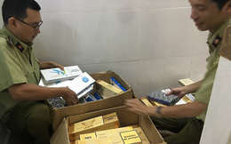 Thu giữ gần 1.000 bao thuốc lá ngoại nhập lậu