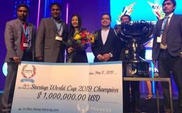 """Doanh nghiệp khởi nghiệp """"thuần Việt"""" đầu tiên vô địch Startup World Cup 2019, nhận giải thưởng 1 triệu USD"""