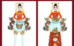"""Thiết kế """"Bàn thờ"""" dự thi quốc phục Việt Nam tại Miss Universe 2019 gây tranh cãi dữ dội"""
