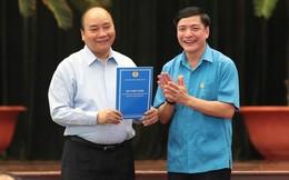 Thủ tướng gặp gỡ công nhân, lao động kỹ thuật cao