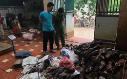 Chân bò, nội tạng gia súc nhập lậu về Hà Nội bán cho quán ăn giá... 6.000 - 11.000 đồng/kg