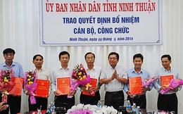 Ninh Thuận bổ nhiệm, điều động hàng loạt Phó Giám đốc Sở