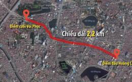 """Tổng thanh tra Chính phủ yêu cầu Hà Nội công khai hồ sơ pháp lý tuyến đường """"đắt nhất hành tinh"""""""