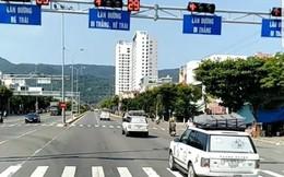 Đoàn xe của Trung Nguyên vượt đèn đỏ ở Đà Nẵng đã nộp phạt