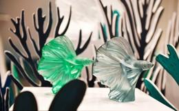 Giới thượng lưu Việt Nam choáng ngợp và thích thú trước những sản phẩm pha lê mỹ lệ của Lalique