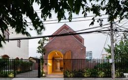 [Ảnh] Ngôi nhà gạch có thiết kế độc lạ, tuyệt đẹp ở Trà Vinh
