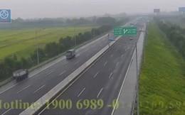Xử phạt nữ tài xế xe tải đi ngược chiều trên cao tốc Hà Nội - Hải Phòng