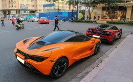 """Cường """"Đô-la"""" lần đầu mang McLaren 720S mới tậu đi họp mặt cùng bạn bè"""
