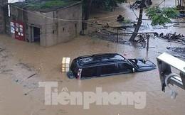 Mưa lụt ở Cao Bằng: Đường biến thành sông, giao thông tê liệt