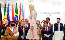 Khoảnh khắc Ivanka Trump khiến các nhà lãnh đạo thế giới ngước nhìn không rời mắt gây sốt mạng xã hội