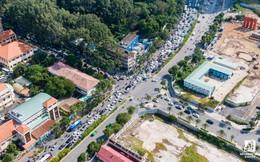 Cận cảnh tiến độ dự án cầu Thủ Thiêm 2 vẫn đang ì ạch về đích, kẹt xe nghiêm trọng bắt đầu gia tăng
