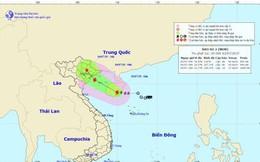Bão số 2 cách Quảng Ninh - Hải Phòng khoảng 410km