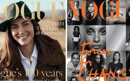 """Đưa lên bàn cân so sánh giữa Công nương Diana và 2 nàng dâu hoàng gia trên tạp chí Vogue mới thấy rõ sự khác biệt và """"tham vọng"""" của Meghan Markle"""