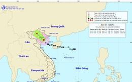 Bão số 2 đã đổ bộ vào khu vực các tỉnh từ Hải Phòng - Nam Định