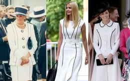 Ivanka Trump mặc đẹp và thần thái ngút ngàn hóa ra là nhờ học hỏi theo công nương Diana và Kate Middleton?