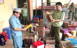 Thu giữ hơn 5.000 sản phẩm thực phẩm nhập lậu từ Trung Quốc