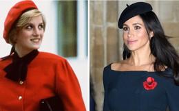"""Meghan Markle lại khiến dư luận sục sôi khi """"lợi dụng"""" Công nương Diana quá cố để thu hút sự chú ý"""