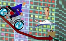 """Cổ phiếu """"xanh mướt"""" cuối phiên, VnIndex giảm nhẹ do VIC, VHM, VRE và SAB"""