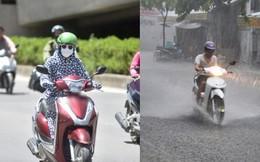 Bắc Bộ mưa lớn, Trung và nam Trung Bộ vẫn nắng nóng kéo dài từ 3-4 ngày tới
