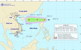 Áp thấp nhiệt đới gần Biển Đông khả năng mạnh thành bão