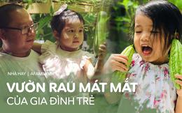 Gia đình Việt ở Mỹ: Người vợ hạnh phúc khi được chồng cùng cải tạo vườn trồng đủ loại rau quả tươi tốt