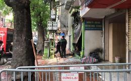 Cháy lớn cửa hàng trên đường La Thành, nhiều người nhảy xuống thoát thân
