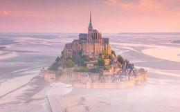 """Hòn đảo cổ tích Mont Saint Michel: Hot không thua kém gì tháp Eiffel, thuộc top 3 địa điểm check-in """"ảo diệu"""" nhất tại Pháp"""
