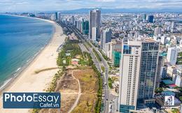Bức tranh toàn cảnh thị trường BĐS Đà Nẵng nhìn từ sự ken đặc của cao ốc dọc bờ biển, giá nhà đất dự báo sẽ còn tăng