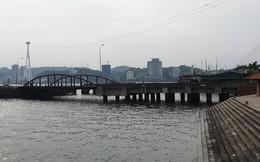 Cảng trăm tỉ Vinashin Hòn Gai nham nhở cột bê tông, thành nơi... câu cá