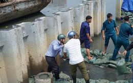 [VIDEO] Nhân chứng vụ vỡ bờ bao ở TP HCM: Nước như thác lũ!