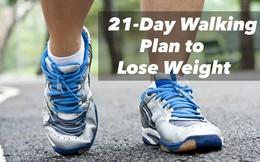 Thử thách 21 ngày đi bộ này có thể giúp bạn đạt được cân nặng lý tưởng, giảm căng thẳng trong suốt ngày dài làm việc mệt mỏi