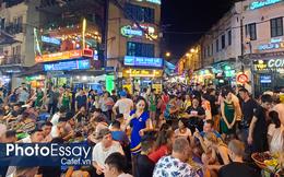 """Kinh tế về đêm nhìn từ """"chiến tranh bia"""" trên phố cổ Hà Nội"""