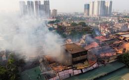 Thủ tướng yêu cầu Hà Nội đảm bảo ngay an toàn cho dân sau vụ cháy Công ty Rạng Đông
