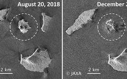 Núi lửa gây sóng thần ở Indonesia đang chìm xuống biển
