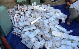 Gần 70.000 gói thuốc lá lậu giấu trong kho phế liệu ở Sài Gòn