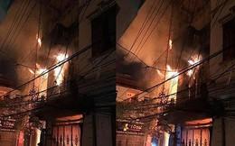 Nhà 4 tầng cháy dữ dội, 2 thanh niên bị thương khi hoảng loạn chạy thoát thân