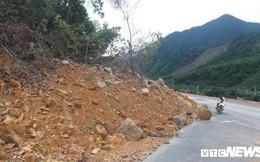 Tuyến cao tốc 11.500 tỷ đồng La Sơn - Túy Loan chưa hoàn thành đã sạt lở