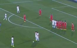 """Asian Cup 2019: Phối hợp đá phạt siêu dị, ĐT Jordan khiến Syria dính """"cú lừa"""""""