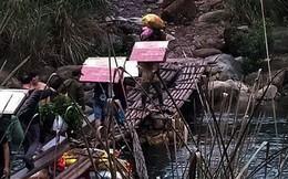Cận cảnh cửu vạn nườm nượp vác hàng lậu qua biên giới Quảng Ninh