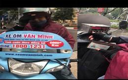 Cô gái tố tài xế dán logo 'xe ôm Văn Minh' chặt chém quãng đường 10km giá 500.000 đồng