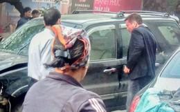 """Nhân chứng vụ """"xe điên"""" trên phố Ngọc Khánh: """"Tài xế bước ra khóc rưng rức, mặt đầy máu"""""""