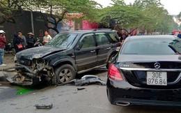 """Danh tính tài xế lái """"xe điên"""" gây tai nạn trên phố Ngọc Khánh khiến cụ bà tử vong"""