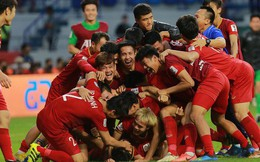 Đánh bại Jordan, tuyển Việt Nam chính thức vượt qua mốc 100 trên bảng xếp hạng FIFA