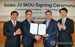Hyundai thành lập liên doanh với một công ty Việt Nam