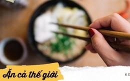 Đôi đũa là món đồ người châu Á sử dụng trong bữa cơm mỗi ngày, nhưng ở mỗi đất nước lại khác nhau thế này đây