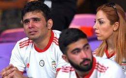 CĐV Iran giàn giụa nước mắt sau thảm bại trước Nhật Bản