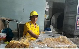 Thu lãi hàng trăm triệu đồng từ nghề làm bánh in bán Tết