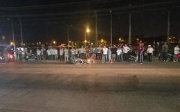 Tông người đi bộ bán hàng rong, thanh niên đi xe máy tử vong tại chỗ, 2 người khác nguy kịch