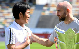 Gặp Qatar ở chung kết, HLV Nhật Bản tuyên bố cho học trò chơi không khác gì trận thắng Iran và Việt Nam