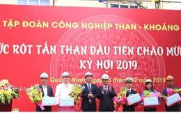 TKV rót hơn 40.000 tấn than trong ngày mồng 1 Tết Kỷ Hợi